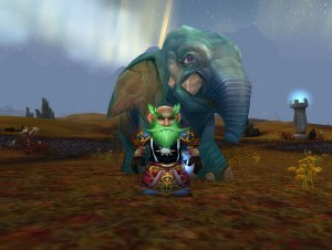 Gnomeaggedon and his Elephant friend