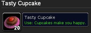 Cupcakes make you happy.