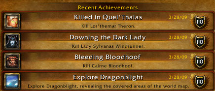 recent-achievements