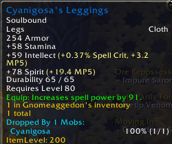Cyanigosas Leggings