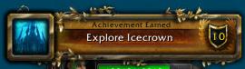 Explore Icecrown