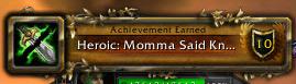 Heroic Momma Said