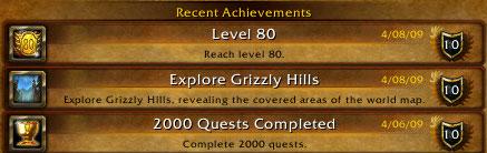 recent-achievements