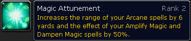 Arcane Attunement Rank 2