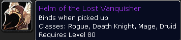 Helm of the Lost Vanquisher