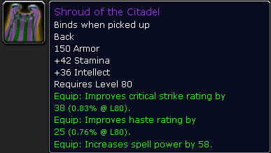 Shroud of the Citadel