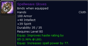 Spellweave Gloves