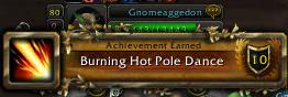 burning hot pole dancing