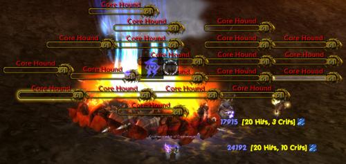 Core Hound AoE