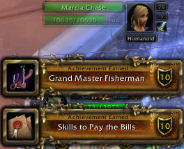 Grand Master fisherman and skills to pay the bills