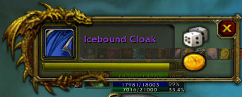 Icebound cloak