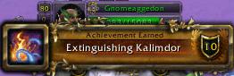 Kalimdor extinguisher