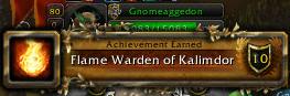 Kalimdor Flame Warden