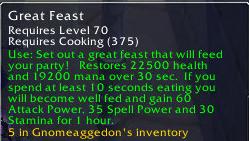 great feast