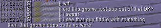 little gnome convo