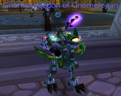 Mini Gnome on strider