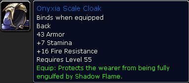 Onyxia Scale Cloak