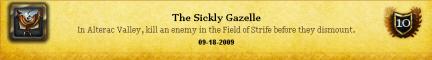 6.5 Sickly Gazelle