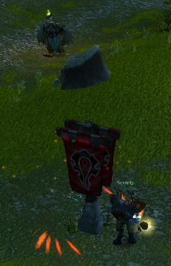 I'm in your AB, stealing your flag... while you AFK.. talk about Disgrasin' the Basin!