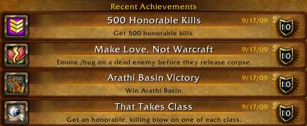 Squidlys PvP Achievements