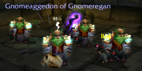 Gnome and 3 freinds