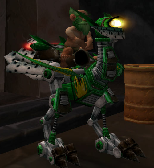 my mechanostrider is a better mount that I