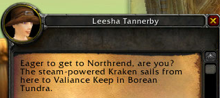 northrend bound