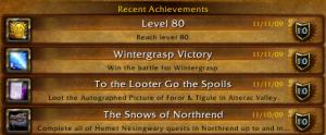 80 achievements