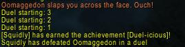 oom duel challenge