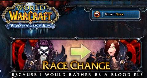 race change