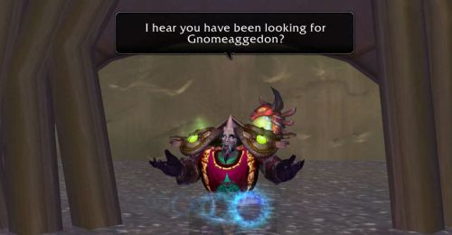 I hear you have been looking for Gnomeaggedon?