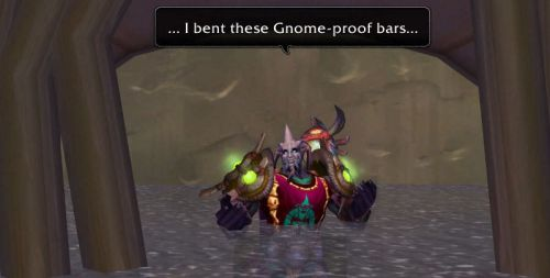 ... I bent these Gnome-proof bars...