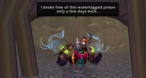 I broke free of this waterlogged prison only a few days back...