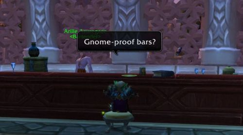 Gnome-proof bars?