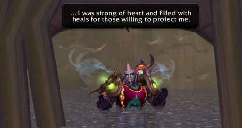 ... I was strong of heart and filled with heals for those willing to protect me.
