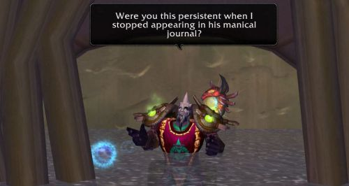 were you this persistent when I stopped appearing in his manical journal?