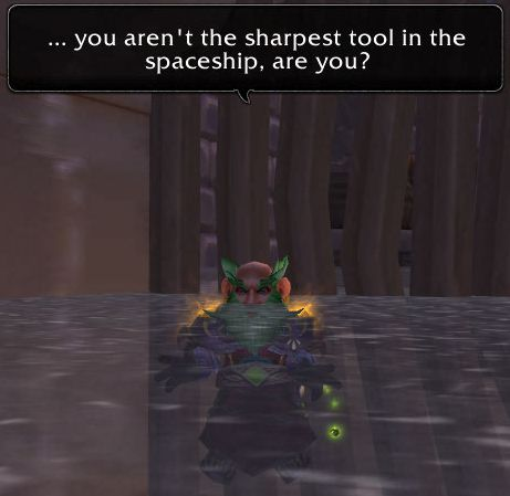 ...you arent the sharpest tool in the spaceship are you?