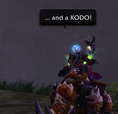 ...and a KODO!