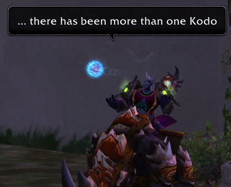 ...there has been more than one Kodo