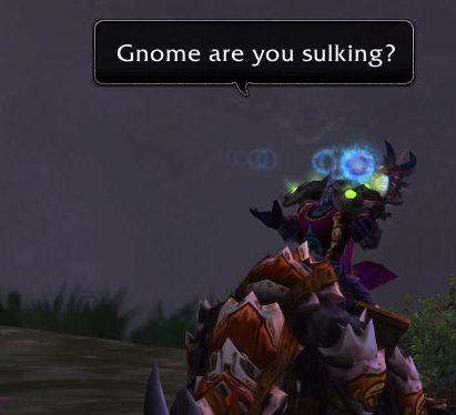 Gnome are you sulking?